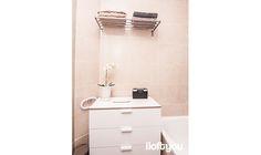 #proyectosantalo #iloftyou #interiordesign #ikea #barcelona #lowcost #bathroom #trysil #grundtal