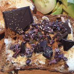 My snack is a biological gluten-free bread with butter coconut blossoms and pure organic chocolatecb lb #organic #bread #glutenfree #organicfood #food #healthylifestyle #healthyfood #cleaneating #eatclean #fitness #motivation #balance #body #fresh #homemade #happy #children #family #swimbikerun #ironman #chocolate #coconut #follow4follow #like4like #free #sun #luxury #life  detox glten free healthy cleaneating