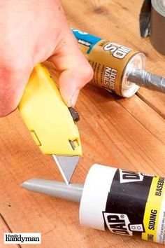 [orginial_title] – The Family Handyman Tips for Caulking Tips for Caulking Easy Woodworking Projects, Woodworking Shop, Woodworking Plans, Caulking Tips, Diy Furniture Easy, Home Fix, Diy Home Repair, Diy Décoration, Home Repairs