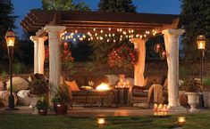 another sweet tuscan pergola set up! hhdu another sweet tuscan pergola set up! another sweet tuscan pergola set up! Pergola Designs, Patio Design, Garden Design, Backyard Designs, Balcony Design, Outdoor Rooms, Outdoor Gardens, Outdoor Decor, Outdoor Patios