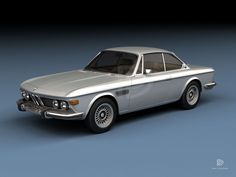 A Garagem Digital de Dan Palatnik | The Digital Garage Project: 1970 BMW 3800
