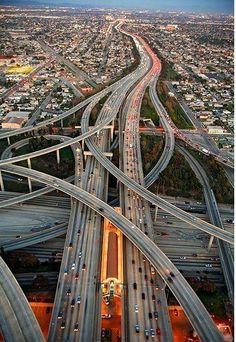 Southern California freeways system