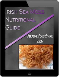 Yellow Golden Vs Purple Sea Moss - Learn the benefits, differences, and several ways how to use purple and gold irish sea moss. Seamoss Benefits, Food Shopping List, Moss Plant, Sea Vegetables, Irish Moss, Irish Sea, Sea Moss, Alkaline Foods, Plant Based Eating