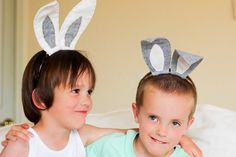 DIY felt ears - 15 Easter Crafts, Activities, and Treats for Kids I Easter Ideas for Kids - ParentMap