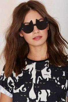 Exclusive I Still Love You NYC Ally Cat Shades - Eyewear