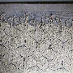Vintage Crochet Bedspread Coverlet by ethanollie on Etsy