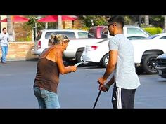 MUST SEE #VIDEO :Man Poses As Blind With Lotto Ticket To See Who Will Tell Him He's Won « CBS Los Angeles