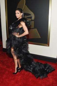 See All the Looks From the 2015 Grammy Awards  - ELLE.com #Ciara  WOAH!