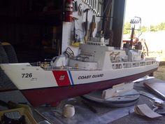 USCGC Midgett (WHEC-726) Model