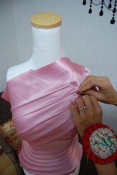 Draping | Sewing | Fashion techniques |