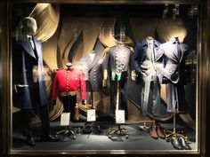 Windows | 5th at 58th Housed at No 1 Savile Row, London, Gieves & Hawkes has been tailoring exceptional clothing for Kings, Aristocrats and men of influence for nearly 250 years. It is our pleasure to showcase original uniforms from the house's Royal archive alongside key pieces from  the Fall/Winter collection.