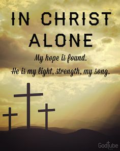 Have Hope in Christ and your Hope will be found through his Light, his Strength and your Song. Believe In Christ Alone! Christian Songs, Christian Quotes, In Christ Alone, Foto Art, Praise And Worship, Worship Songs, Spiritual Inspiration, Me Me Me Song, Christian Inspiration