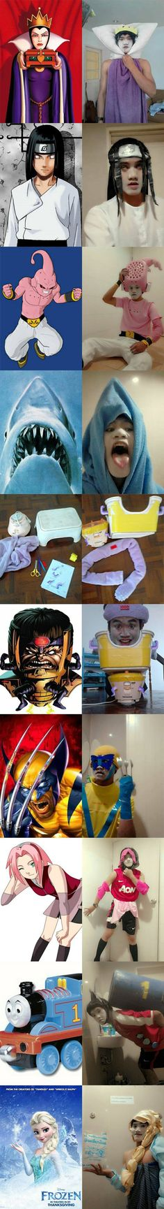 Cosplaying On a Budget // funny pictures - funny photos - funny images - funny pics - funny quotes - #lol #humor #funnypictures