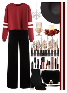 """""""Saturday Outfit"""" by galpaian-elisa ❤ liked on Polyvore featuring Artistica, Diane Von Furstenberg, T By Alexander Wang, Gianvito Rossi, Witchery, Laura Mercier, Maybelline, Smith & Cult, NARS Cosmetics and Bobbi Brown Cosmetics"""