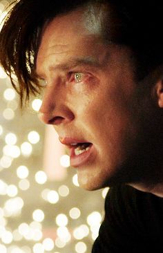 Benedict Cumberbatch #Khan, the emotions in his eyes...
