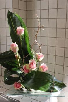 Risultati immagini per composition florale ornithogalum