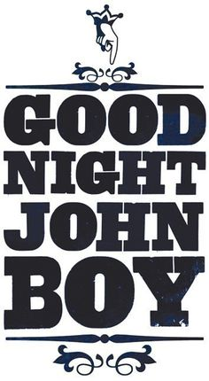 Remember the Walton's and all the good nights at the end of the show? Good night Mary Ellen, John Boy, Grandpa, pa, etc. My Childhood Memories, Sweet Memories, 1980s Childhood, John Boy, I Remember When, Poster S, Old Tv Shows, Ol Days, Classic Tv