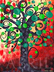 folk art tree
