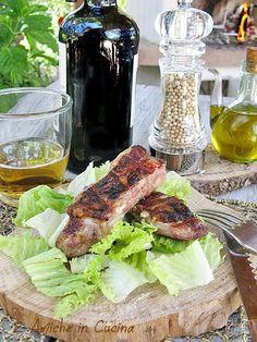 costine di maiale alla birra e senape
