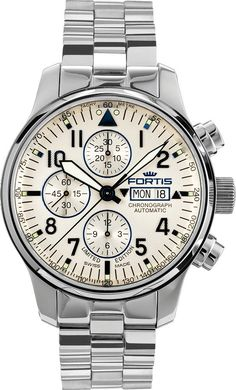 Fortis Watch Aviatis F-43 Recon Chronograph Limited Edition #bezel-fixed…