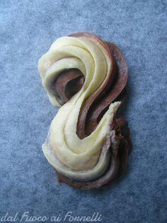 biscotti morbidi bicolor_ricetta dolce