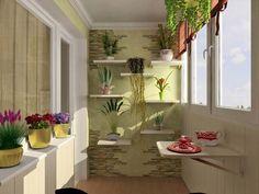 balcony design - 50 best photos, interior design balconies and loggias Interior Balcony, Balcony Design, Interior And Exterior, Outdoor Balcony, Rooftop Garden, Balcony Ideas, Pooja Room Design, Interior Design Photos, Pooja Rooms
