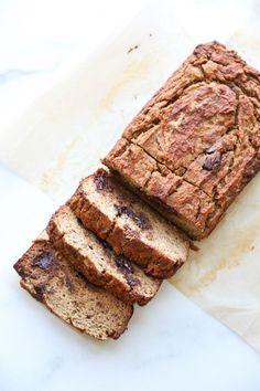 The Best Gluten-Free Chocolate Chip Banana Bread Recipe | Paleo