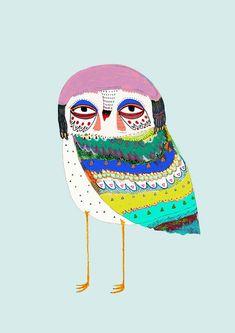 Illustration art print art print kids room by AshleyPercival