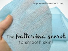 The ballerina secret for glowing skin; the salux cloth. Supposed to be good for preventing ingrown hairs after shaving too! :http://www.amazon.com/gp/product/B000CSDDDG/ref=as_li_qf_sp_asin_tl?ie=UTF8&camp=1789&creative=9325&creativeASIN=B000CSDDDG&linkCode=as2&tag=empowesusten-20