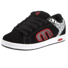 Etnies Little Kid/Big Kid Kids Digit 2 Sneaker,Black/Red/White,10 M US Toddler Etnies. $44.95