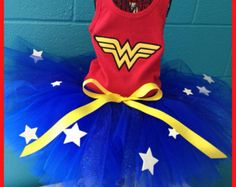 Wonder Women Tutu Set