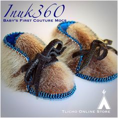 Baby's First Couture Mocs Boogie Shoes, Inuit People, Baby Slippers, Fabric Shoes, Future Baby, Moccasins, Hand Sewing, Flats, Couture