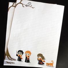 Harry Potter stationary!