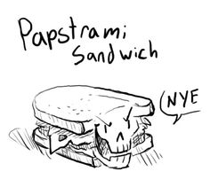 Papyrus would not be happy with this pun