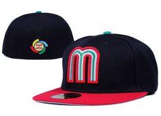 MLB Mexico Baseball Cap Embroidery Team logo Gorra de beisbol Fitted Hats #DHgatePin