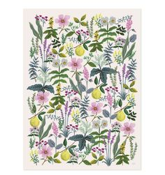 Wrapping paper sheets from rifle paper co - cheap large scale art!