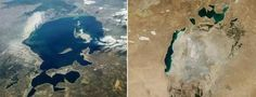 Images from NASA's Terra satellite have revealed some alarming results. The Aral Sea in Kazakhstan, which once was the fourth-largest lake in the world, is almost completely dry, The Independent reports. The lake was once fed by two major rivers, the Syr Darya and the Amu Darya, which flowed through the Kyzylkum Desert, meeting at the basin's end. Scientists attribute the Aral Sea's decline to an irrigation project by the Soviet Union in the 1960s, which took water from the rivers to turn ...