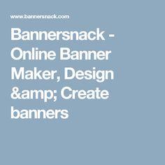 Bannersnack - Online Banner Maker, Design & Create banners