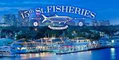 15th Street Fisheries & Dockside Café- Fort Lauderdale, Florida Waterfront Seafood Restaurant
