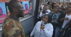 "Stormzy Started Doing ""Shut Up"" And Then Had To Pass The Mic To This Girl 