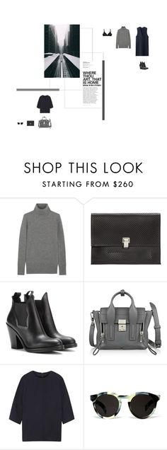 """""""Angela - the lumineers"""" by aimable ❤ liked on Polyvore featuring J.Crew, Proenza Schouler, Acne Studios, 3.1 Phillip Lim, Marni, Illesteva and Bodas"""