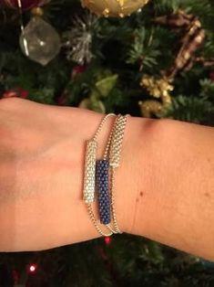 Make Alpha Friendship Bracelets - Craft & Patterns - Visual result about Peyote miyuki models - Beaded Jewelry Designs, Seed Bead Jewelry, Bead Jewellery, Jewelery, Handmade Jewelry, Seed Beads, Bracelet Crafts, Beaded Rings, Bead Earrings