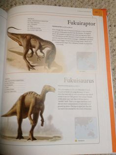 Had to suppress juvenile laughter when readin my son's dinosaur book