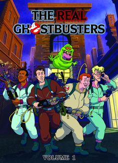 80s cartoons- Ghostbusters