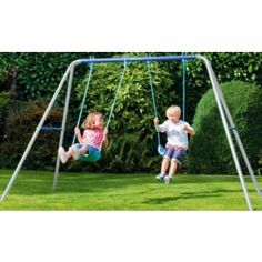 Buy Chad Valley Double Swing Set at Argos.co.uk - Your Online Shop for Swings.