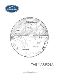 TheMariposa - FAVORITE! Master + kids room, loft, spacious kitchen & living, w/d but no mudroom.