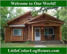 Welcome to our world! – Cedar Blog