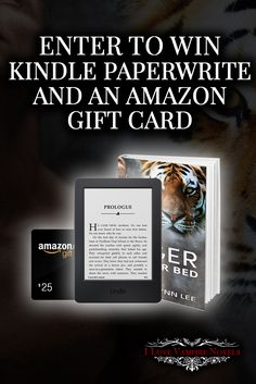 Win a $25 Amazon Gift Card or a Kindle Paperwhite from Bestselling Author Lizzie Lynn Lee http://www.ilovevampirenovels.com/giveaways/win-25-amazon-gift-card-kindle-paperwhite-bestselling-author-lizzie-lynn-lee/?lucky=225271
