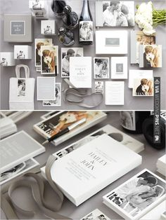 Pinhole Press Wedding Stationery | VIA #WEDDINGPINS.NET