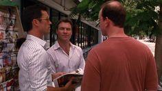 "Burn Notice 3x12 ""Noble Causes"" - Michael Westen (Jeffrey Donovan), Mason Gilroy (Chris Vance) & Claude (Simon Needham)"